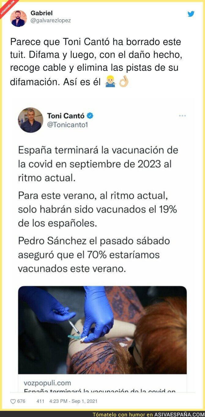 894437 - Así es la poca vergüenza de Toni Cantó