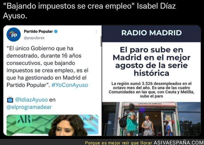 895037 - Un saludo para Isabel Díaz Ayuso