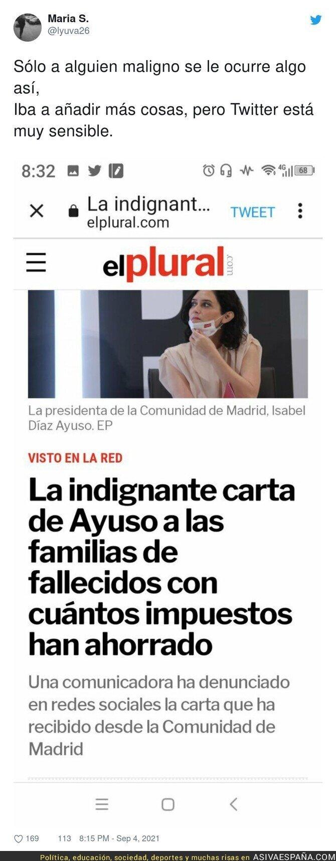 897565 - Es de una maldad infinita lo del PP en Madrid