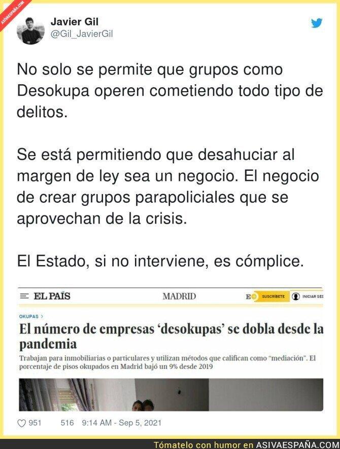 897688 - Hay que frenar a los grupitos de 'Desokupas'