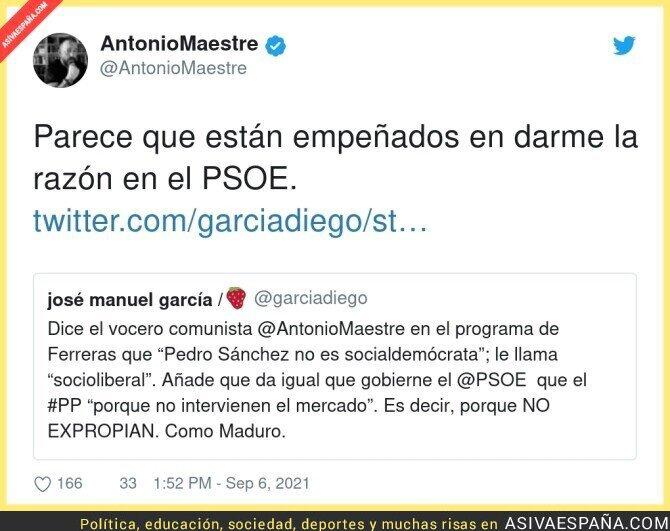 898696 - Las verdades de Antonio Maestre sobre el PSOE han dolido