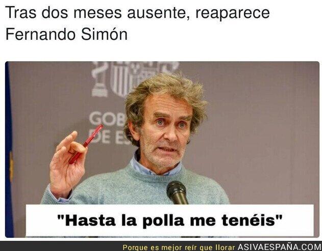 902047 - Fernando Simón ya está harto