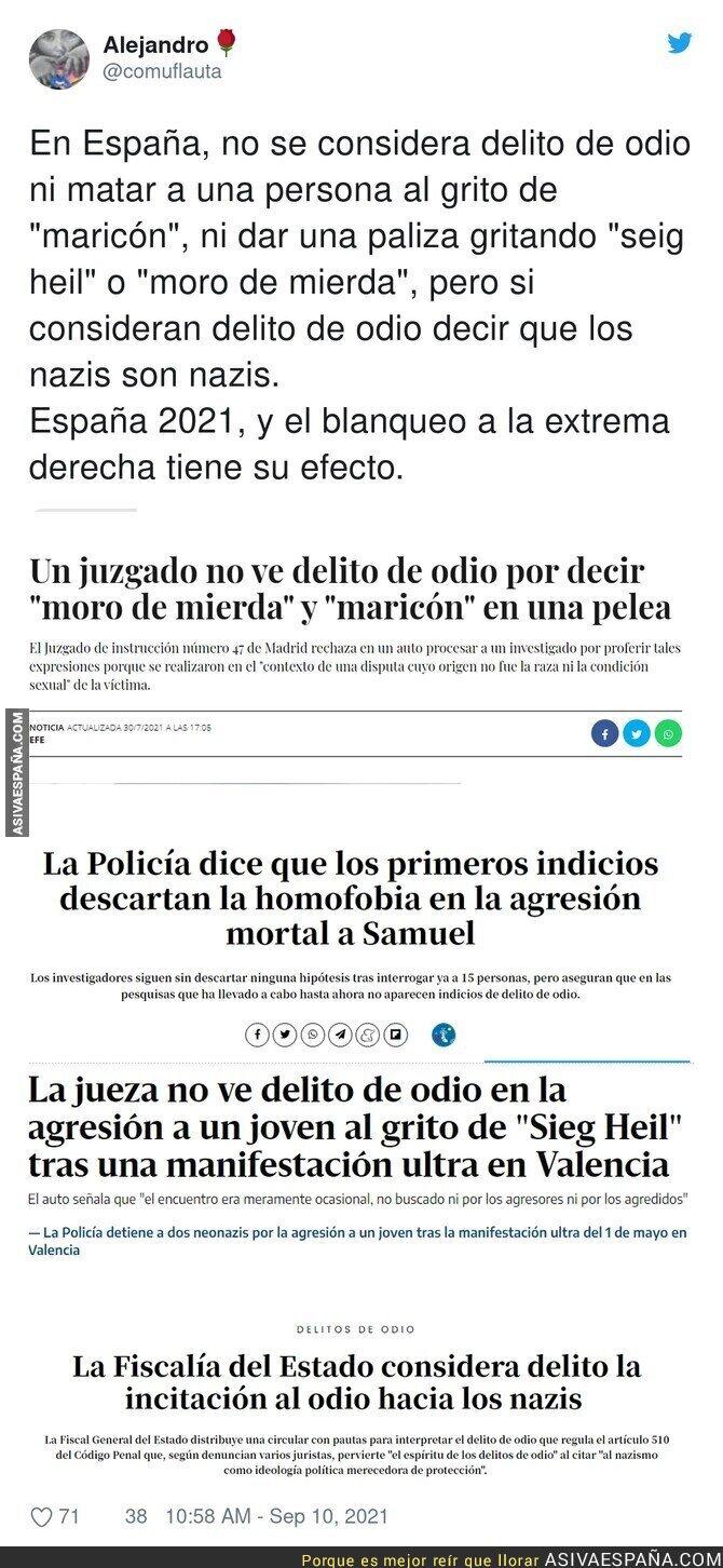 903099 - Las diferencias que hay en España