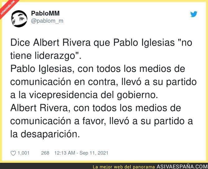 903465 - Diferencias claras entre Pablo Iglesias y Albert Rivera