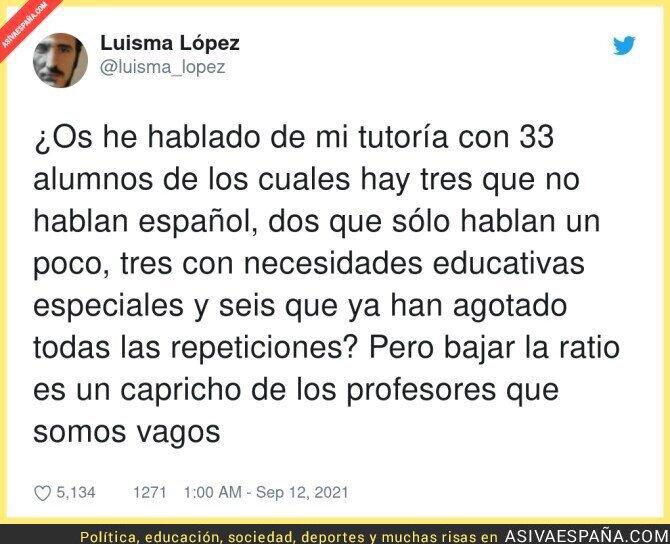 904655 - La Educación en España, por @luisma_lopez