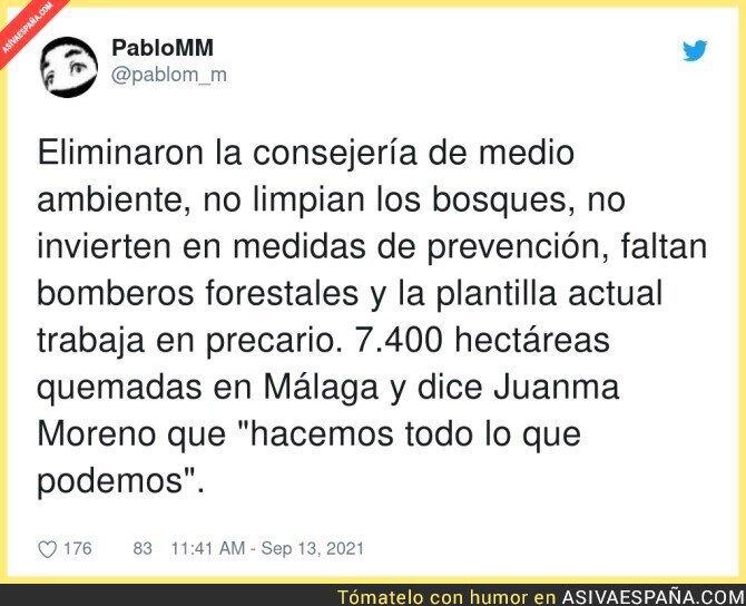 905248 - Los incendios de Málaga tienen culpables principales: las personas que lo han provocado y sus intereses espurios. P…  , por @pablom_m