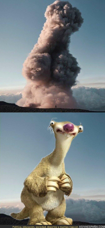 913830 - Parecidos razonables en pleno volcán