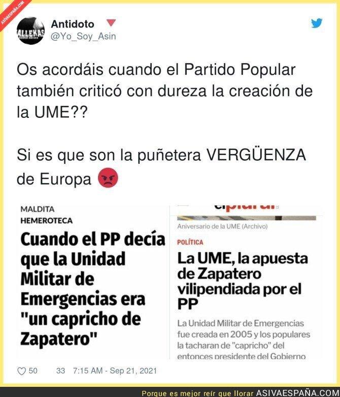 913943 - La UME ha sido de lo mejor que ha hecho Zapatero por España