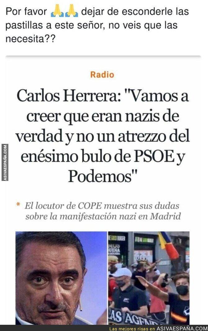 913970 - Carlos Herrera necesita la visita a un especialista