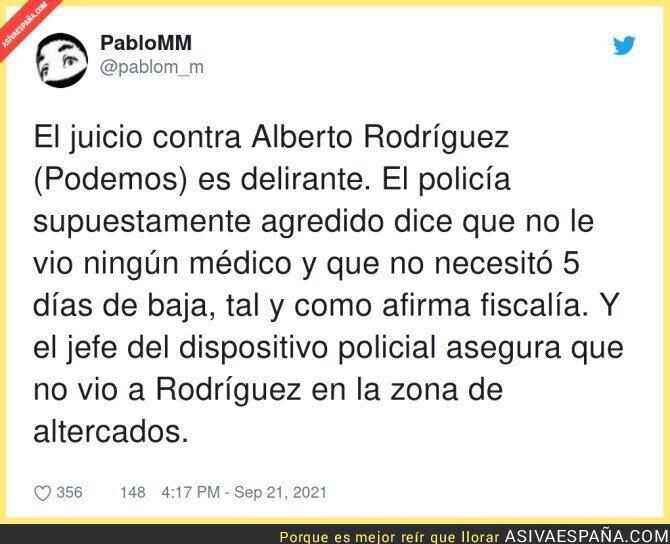 914058 - La situación con Alberto Rodríguez es insólita
