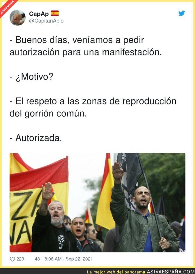 914867 - Así se gestionan las manifestaciones en Madrid