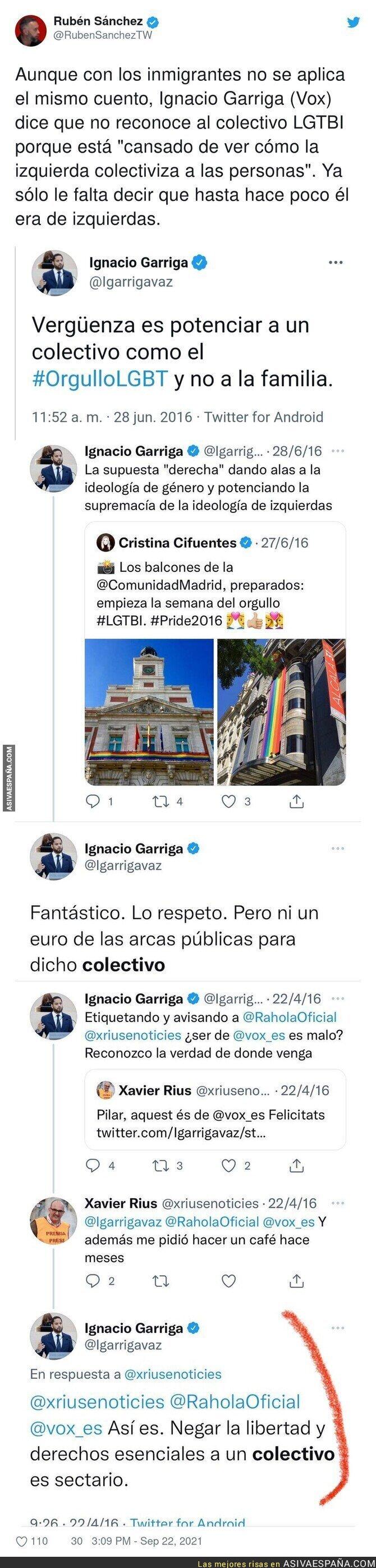 915169 - La persecución de Ignacio Garriga al colectivo LGTBI