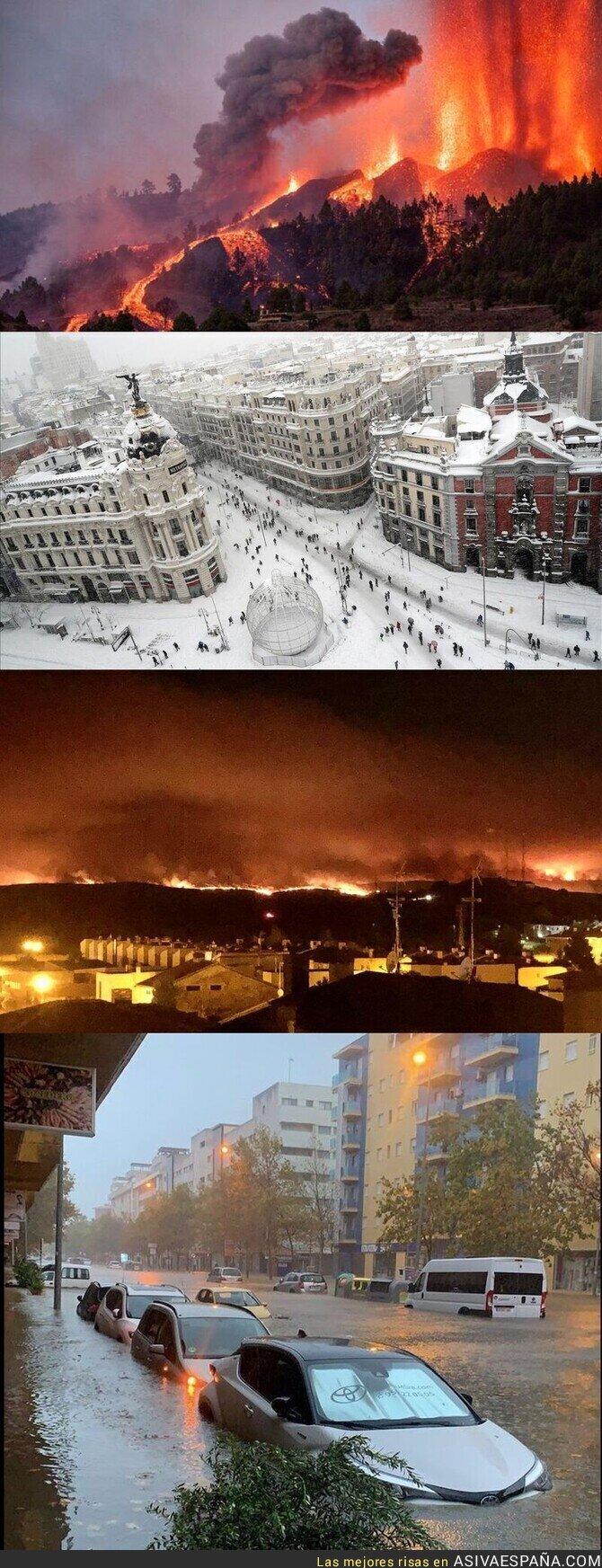 916124 - España 2021: La Palma, Madrid, Ávila, Isla Cristina. Y todavía hay gente que dice que el cambio climático no existe