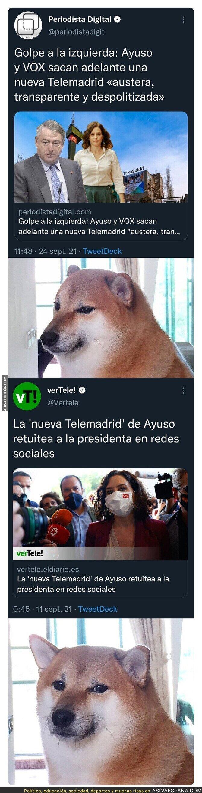 917351 - La nueva Telemadrid de Isabel Díaz Ayuso