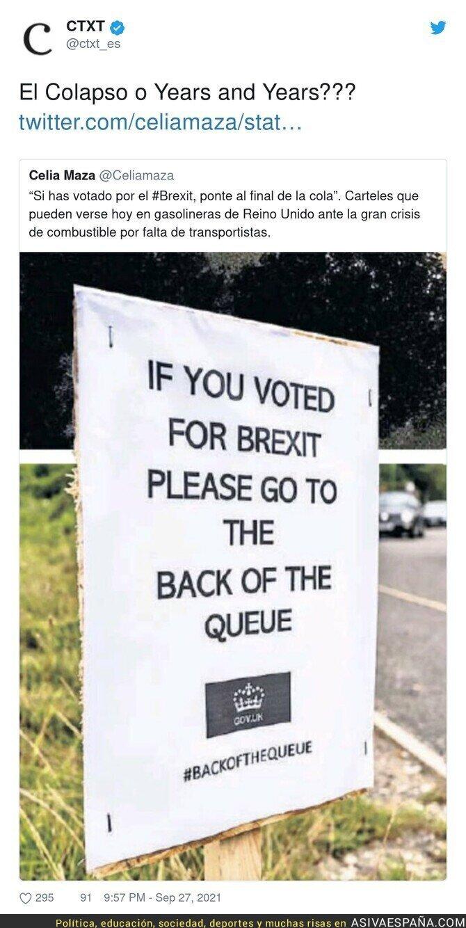 920646 - El caos está llegando a Reino Unido tras el brexit