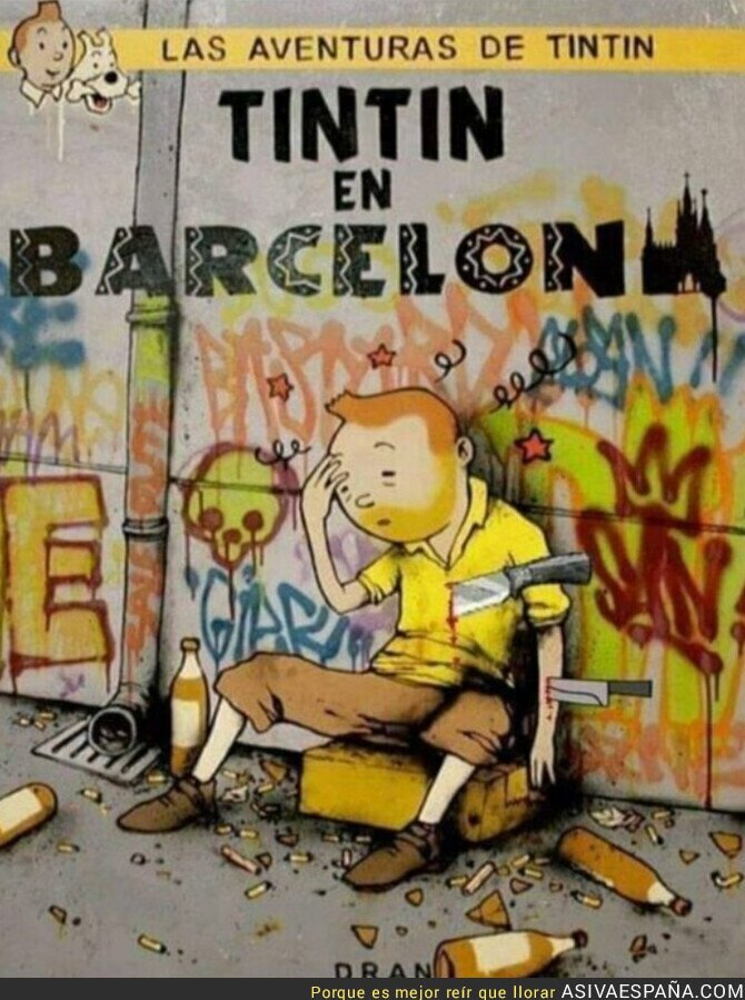 920766 - Menuda aventura de Tintín
