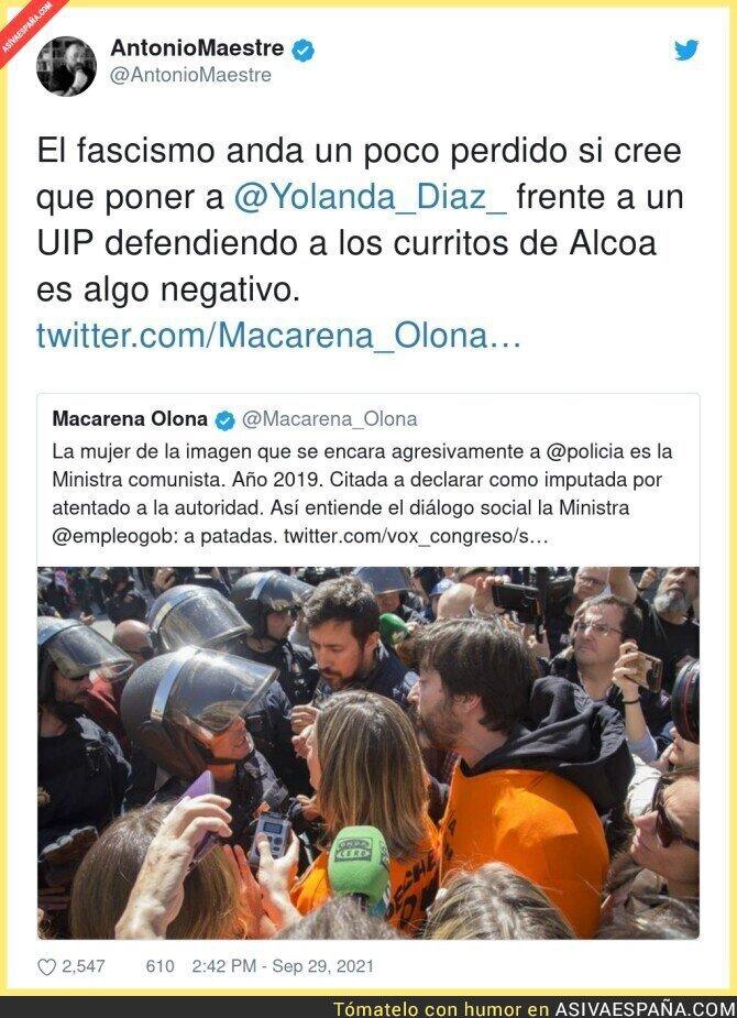 921467 - Yolanda Díaz, orgullo de la clase obrera