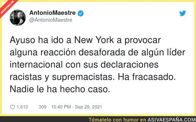 922125 - El ridículo monumental de Díaz Ayuso
