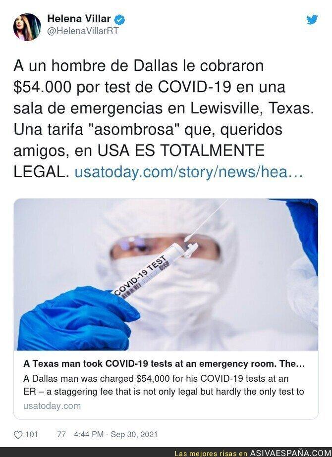 922579 - USA da meido en temas de sanidad