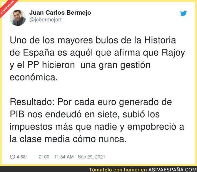 924260 - La gran mentira del gobierno de Rajoy