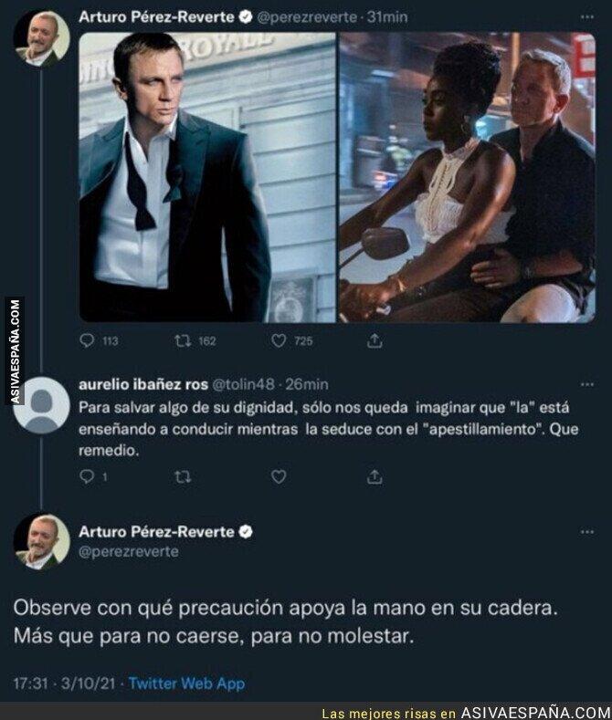 925417 - El análisis de Arturo Pérez-Reverte a la nueva película de James Bond
