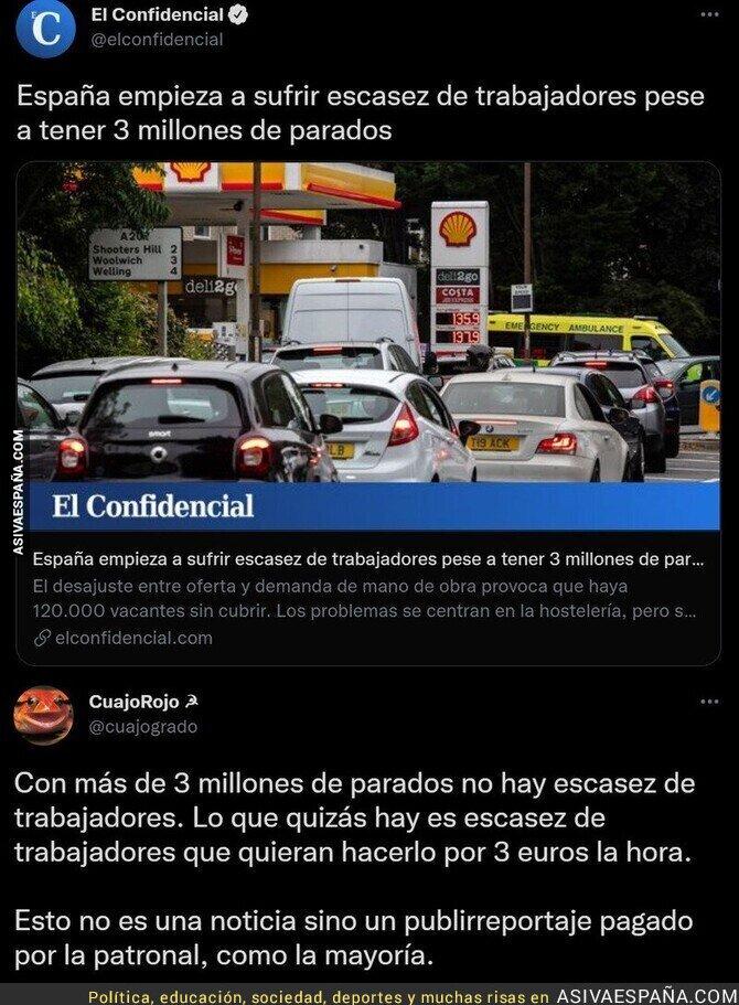 925915 - ¿Quién se cree que en España haya escasez de trabajadores?
