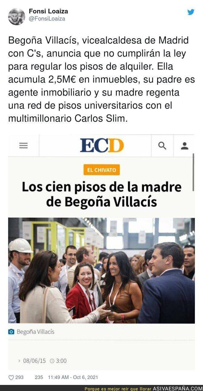 928361 - Los intereses de Begoña Villacís