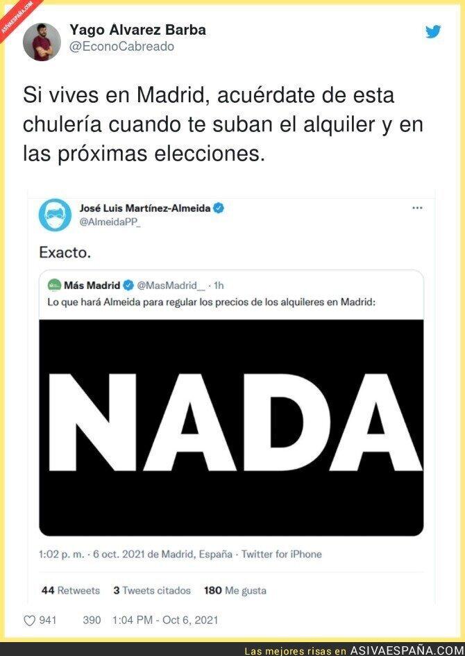 928414 - Muy preocupante esto del alcalde de Madrid