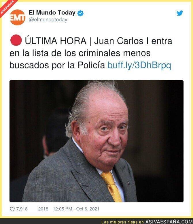929088 - Juan Carlos I encabeza la lista