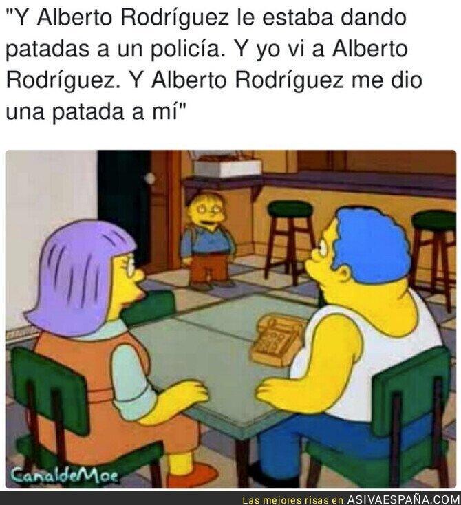 929917 - No hay más pruebas contra Alberto Rodríguez