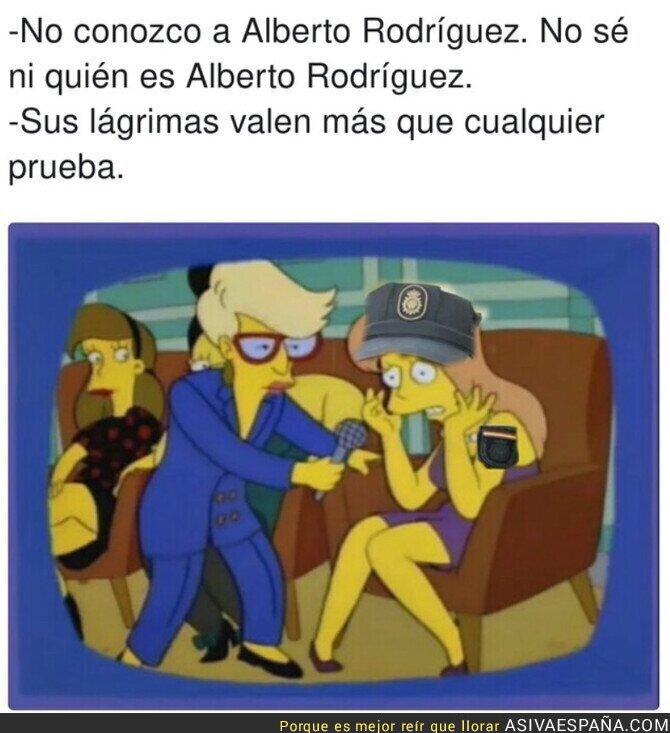 930025 - Las pruebas contra Alberto Rodríguez