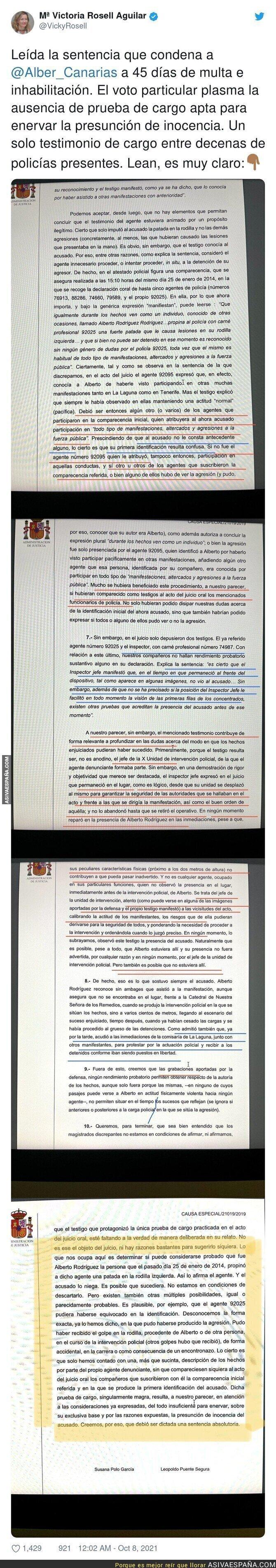930173 - La más que polémica sentencia contra Albert Rodríguez pone en tela de juicio a los jueces
