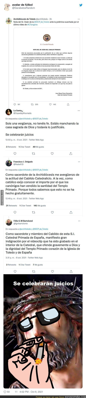 930686 - Los creyentes se enfadan el videoclip de C. Tangana tras haberse grabado en la Catedral de Toledo