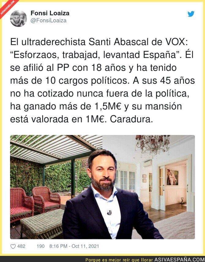 932848 - Santiago Abascal tiene mucha jeta