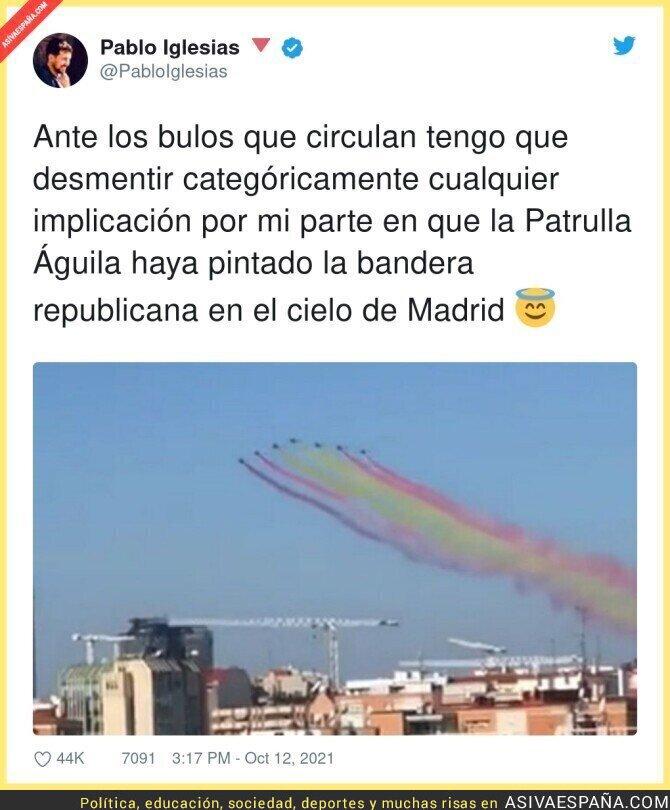 934253 - Pablo Iglesias no se hace responsable