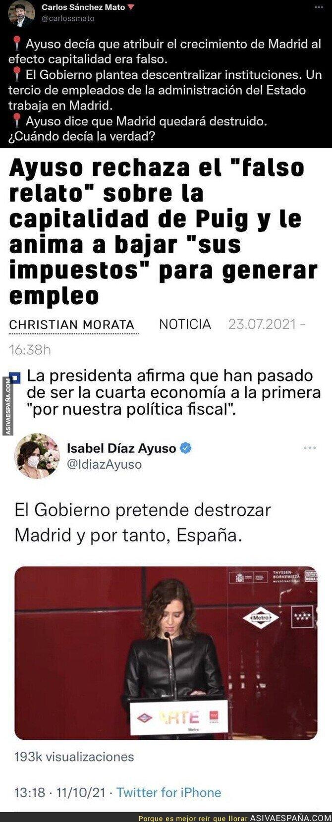 934456 - Es desconcertante lo de Isabel Díaz Ayuso