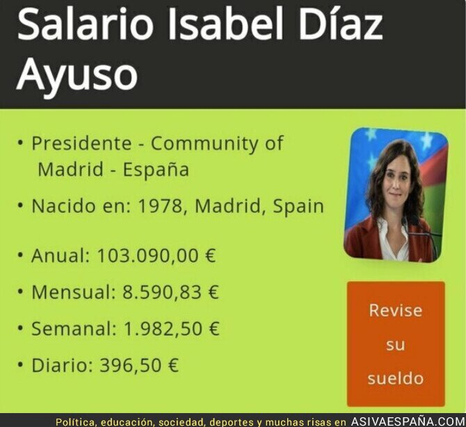 936006 - Menuda fiesta tenemos con Isabel Díaz Ayuso