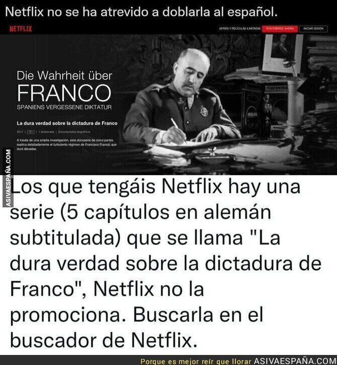 938756 - El documental de Netflix que no se han atrevido a doblar en español