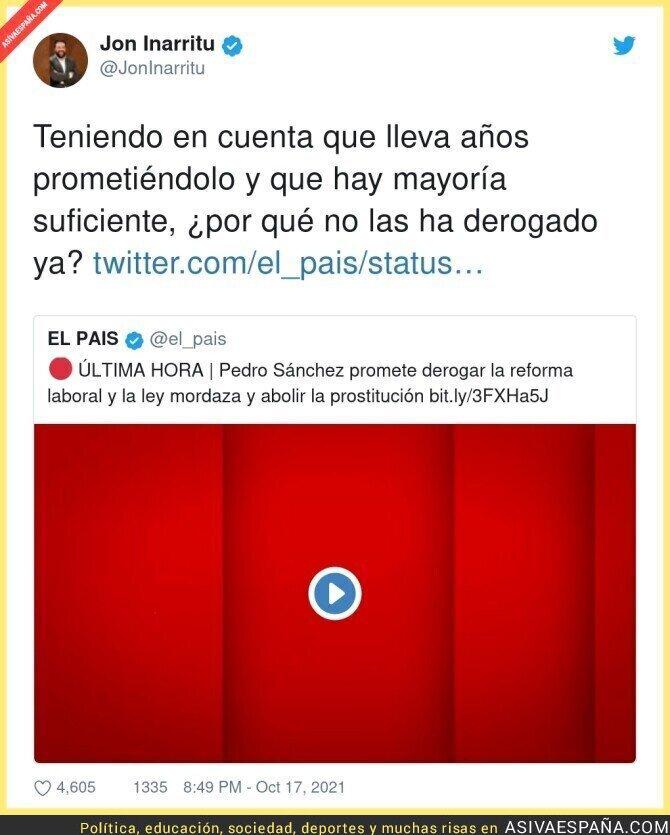 940042 - Incomprensible lo de Pedro Sánchez