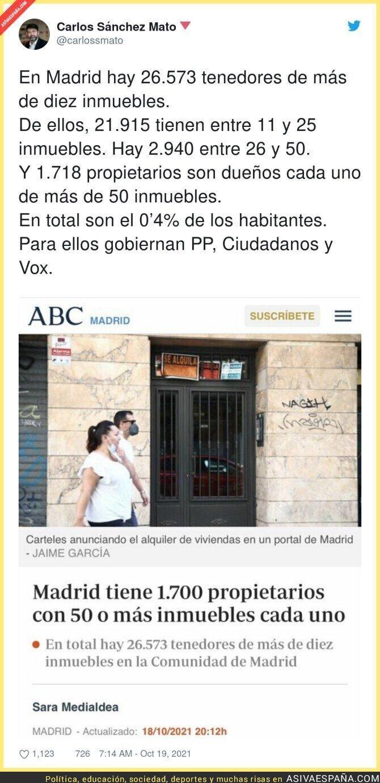 940737 - Un dato demoledor en Madrid sobre inmuebles y propietarios