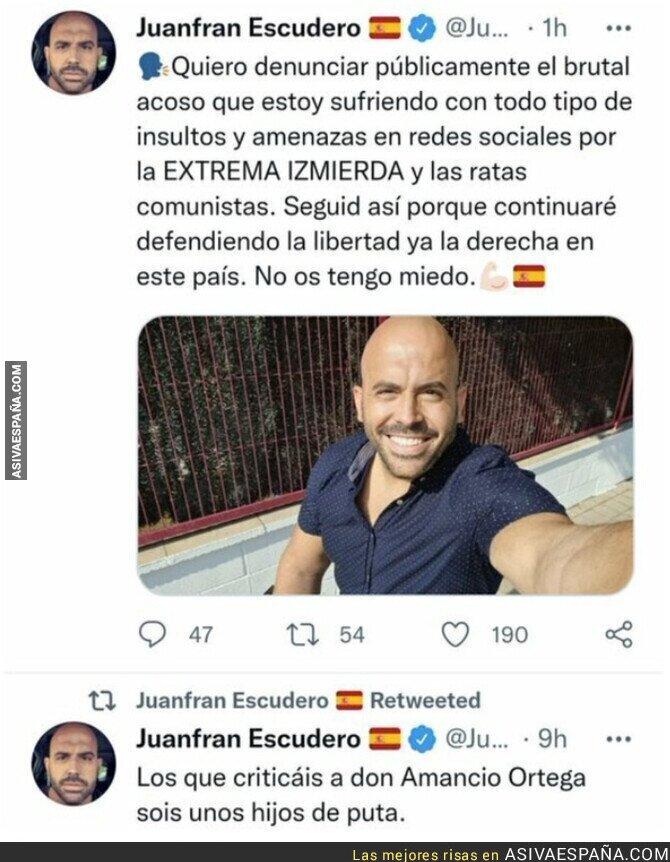 941849 - Juanfran Escudero todo  un personaje