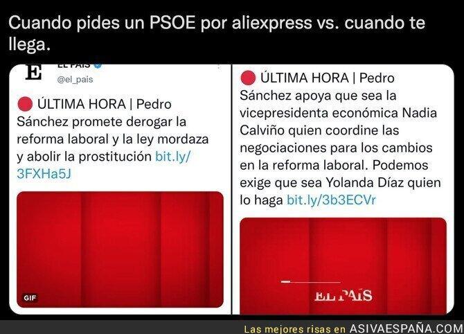 943933 - Las dos caras del PSOE