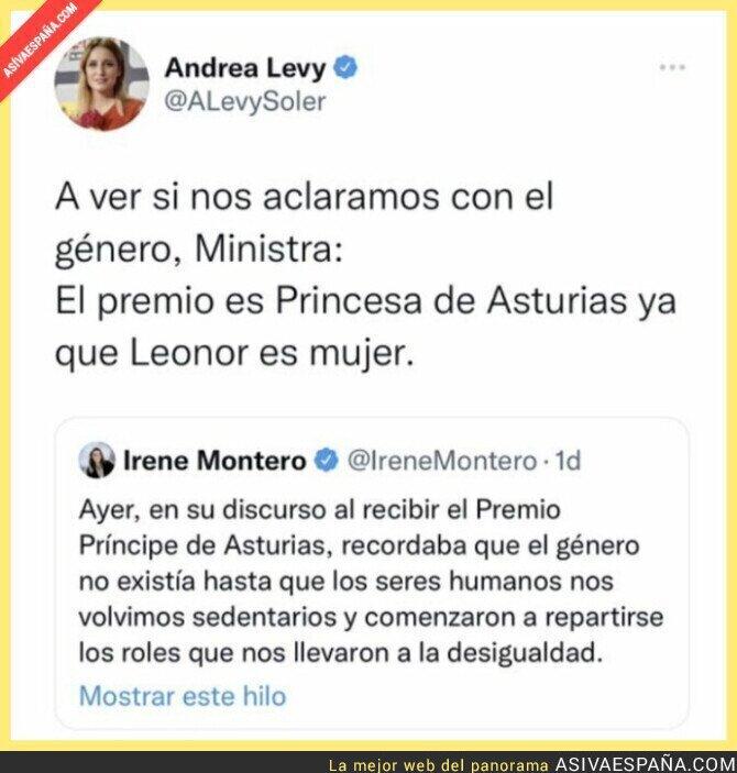 945817 - Menudo lío tiene Irene Montero