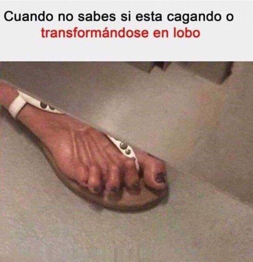 Meme_otros - Hay pies que dan realmente miedo