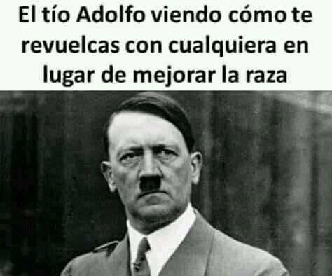 Meme_otros - Adolfo se avergüenza de ti