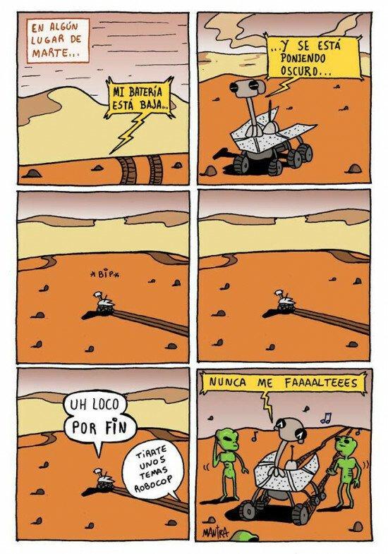 Otros - Lo que necesitan realmente los aliens en Marte