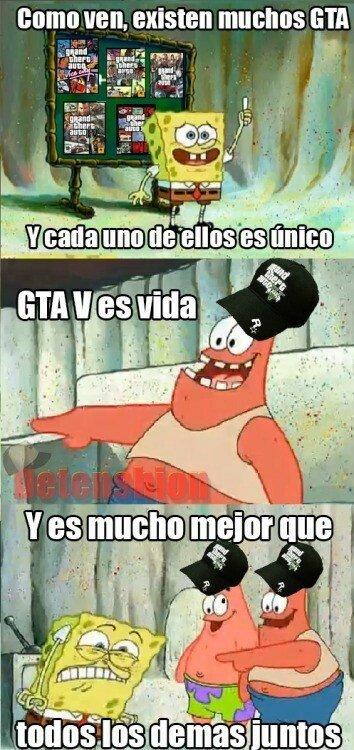 Meme_otros - Entrando en el complicado mundo de los GTA