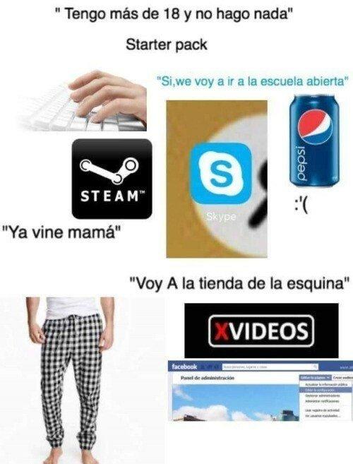 Meme_otros - La vida adulta es algo así