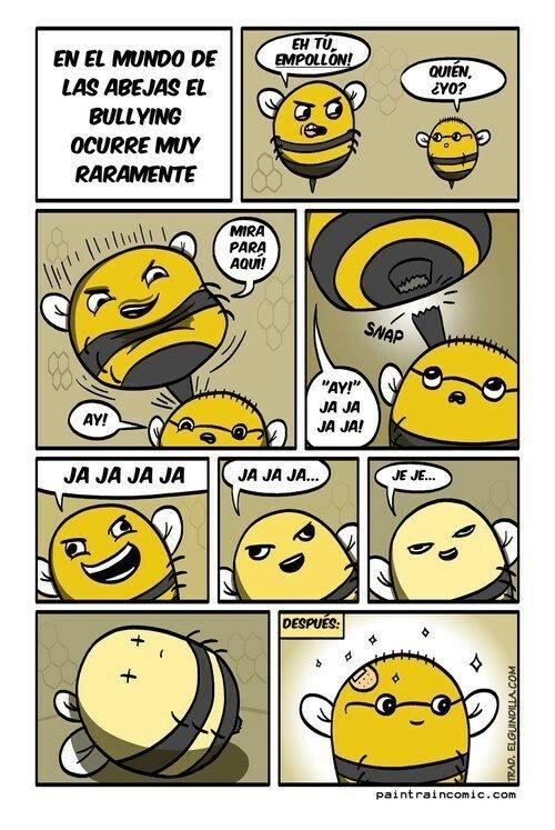 Otros - Las abejas no se pueden pasar de trolls