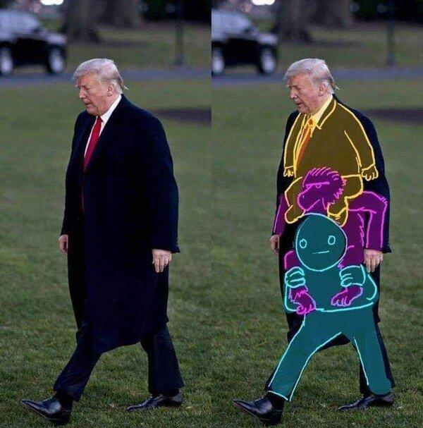 Meme_otros - El secreto de Trump sale a la luz